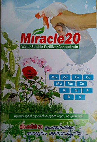 Miracle 20   NPK 13 27 27   Spraying Fertilizer for All Plants {500 Grams}