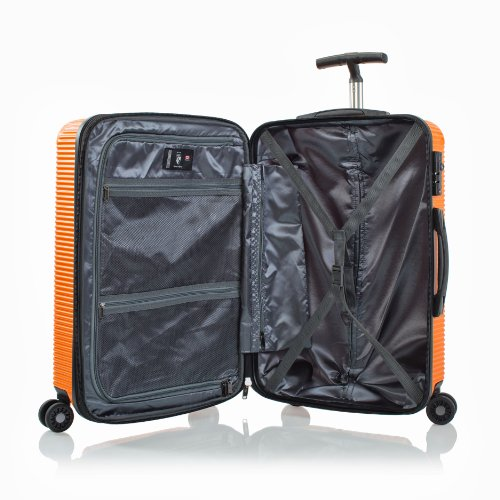 ... 50% SALE ... PREMIUM DESIGNER Hartschalen Koffer - Heys Crown Executive Shuttle Blau Trolley mit 4 Rollen Medium Blau 19