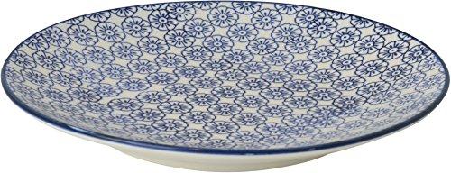nicola-spring-gemusterte-beilagenplatte-180-ml-blaues-blumen-design