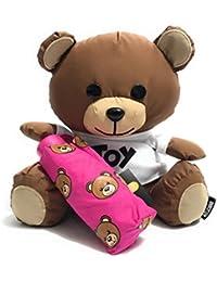 TEDDY BEAR CASE MOSCHINO   OMBRELLO SUPER MINI RETRAIBILE FUXIA O18MO25 dfad8123cbf