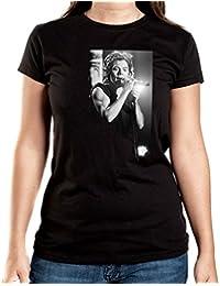 Styles Microphone T-Shirt Girls Black Certified Freak
