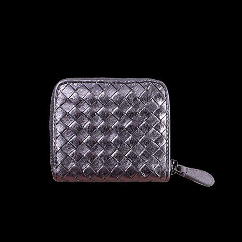 Faysting EU donna portafoglio donna borsellino multi colori rete piccolo con catenina buon regalo B