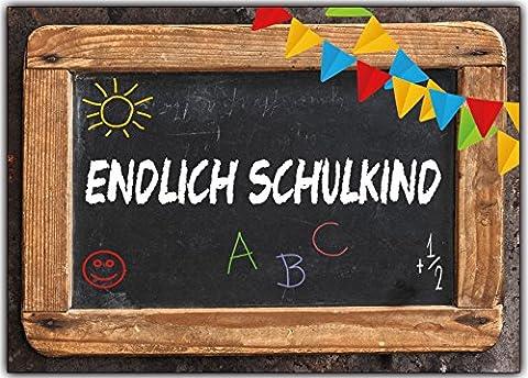 Einladungskarten zur Einschulung Schulanfang Schule Einladung Karten Schultafel 8