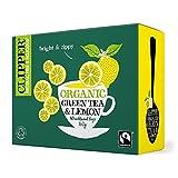 Clipper | Organic Green & Lemon 80 Bags | 4 x 80 bags