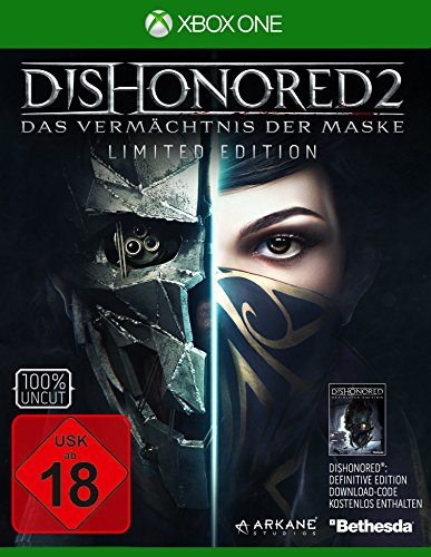 Dishonored 2: Das Vermächtnis der Maske - Limited Edition (inkl. Definitive Edition) [Xbox One]