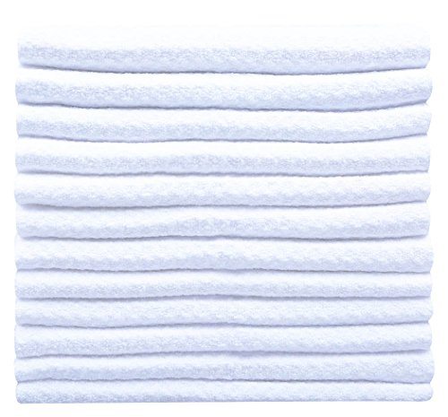 sinland-microfibre-waffle-weave-dish-cloths-dishcloth-face-cloth-30cmx30cm-pack-of-12-white