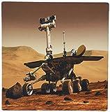3drose LLC 20,3x 20,3x 0,6cm Maus Pad, Bild von Rover auf Mars Oberfläche–(MP _ 174342_ 1)