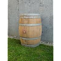 Regentonne, Holzfass, Weinfass Barrique, Temesso-Fass aus Eiche 225 Liter inkl. Deckel