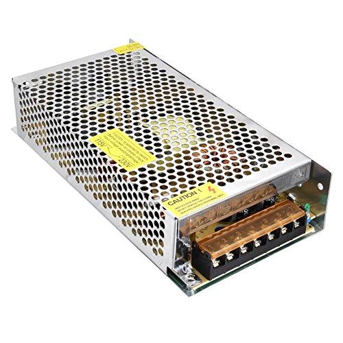 Alftek Metal Case AC to DC 12V 15A 180W Transformer Switch Power Supply Driver for Led Strip Light