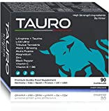 TAURO - Uomo Potenza Extra - Vigore Unico, Massima Durata - Risultato Vincente - 90 Compresse