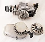 Complete 2 Stroke 49 cc Single Cylinder Engine For Minimoto/Mini Quad