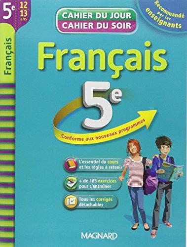 Français 5e : cahier de révision et d'entraînement