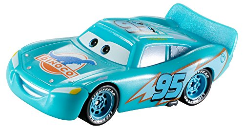 Image of Disney Pixar's Cars the Movie 1:55 Scale Die-Cast Color Changer Car - Dinoco Lightning McQueen