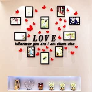 Aungaoo 3d Stereo Photo Stickers Papillon Chambre A Coucher