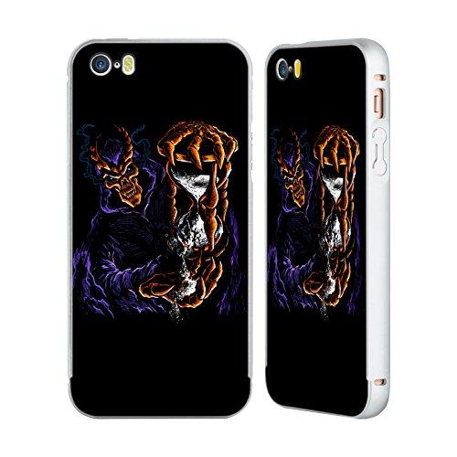 Offizielle Wwe Ewig The Undertaker Silber Rahmen Hülle mit Bumper aus Aluminium für Apple iPhone 6 Plus / 6s Plus Sanden Der Zeit