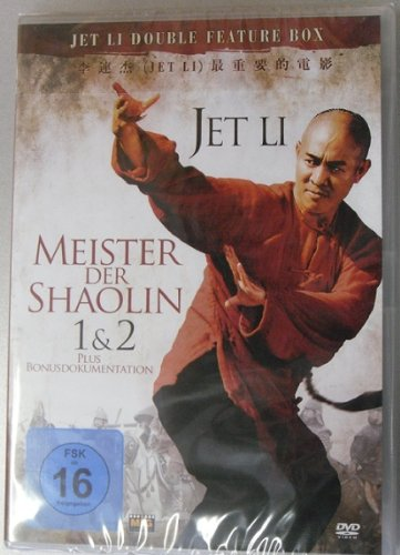 Meister der Shaolin 1+2 Jet Li Double Feature