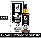 HONEST CHOICE Skin Lightening Whitening Brightening and Intimate Serum with Kojic Acid for Body, Face, Neck, Bikini, Sensitive Areas and All Skin Types Dark Spot Corrected (50 ml)