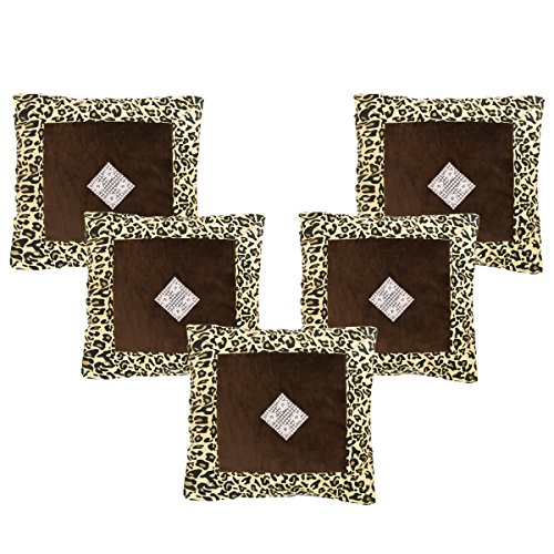 AMAZON GREAT INDIAN DIWALI SALE DISCOUNT - Belive-Me Velvet Yellow Cushion Covers (16X16 Inches) Set of 5