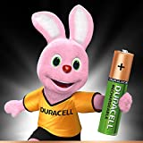 Duracell 80411331906 Recharge Ultra Type AAA Batteries, 850 mAh, Pack of 4