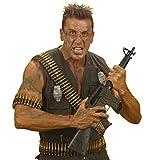 NET TOYS Patronengürtel Soldat Army Patronengurt 24 Schuss Patronen Gürtel Beine Armee Munitionsgürtel Militär Patronengurte Soldaten Kostüm Zubehör