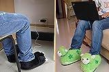 Weiche Innen- / Büro-elektrische beheizte Schuhe Winter-Frauen-USB-Fuß-Wärmer -