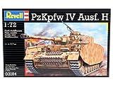 Revell Modellbausatz 03184 - Panzerkampfwagen IV Ausführung H im Maßstab 1:72