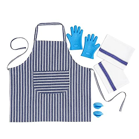SMARTZ Apron For Men and Women - Set with 2