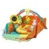 Interaktive Lernmatte Spielmatte Spaßdecke Spielbogen Erlebnisdecke Krabbeldecke Babydecke Spielcenter Baby