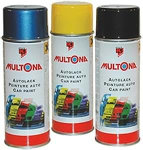 autolackspray multona 400 ml dans de nombreuses couleurs vernis peinture de. Black Bedroom Furniture Sets. Home Design Ideas