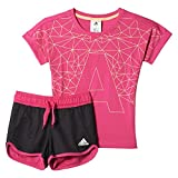 adidas Kinder Trainingsanzug LG RI Cot Set, Rosa, 98, 4056559902889