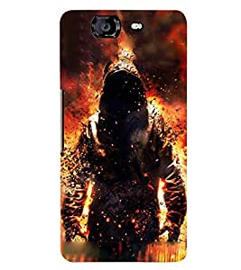 PRINTSWAG BOY ART Designer Back Cover Case for MICROMAX A350 CANVAS KNIGHT