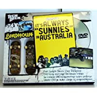 Tech Deck - 22509 - 96 mm Fingerboards - 2 Pack Birdhouse Fingerboards y Skate DVD (Inglés!) - 'It's always...'