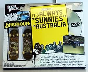 "Tech Deck Sk8 Shop DVD Birdhouse ""It's always..."" + 2 Bonus Fingerboards"
