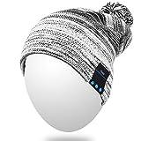 Best Casque Bluetooth Pour Runnings - Qshell hiver Comfy Bluetooth Bonnet Pom Pom Musique Review