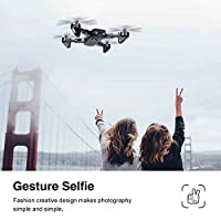 LBLA Foldable Drone WIFI FPV Quadcopter With 2MP 720P Wide Angle Camera Altitude Hold 3D Flips TIF RC Helicopter
