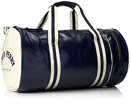 Fred Perry Classic Barrel Herren Sport/Reisetasche Blau Blau