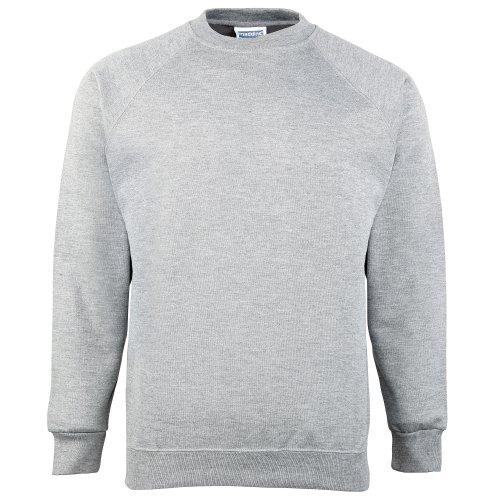Maddins - Sweatshirt - Homme Gris Oxford