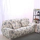 Dehnbarer, rutschsicherer und elastischer Sofa-Schonbezug aus Polyester von Fastar. Für Einsitzer, Zweisitzer und Dreisitzer., Type:B, 2-Sitzer