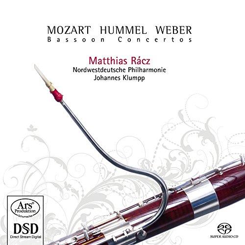 Mozart/Hummel/Weber:Fagottkonzerte