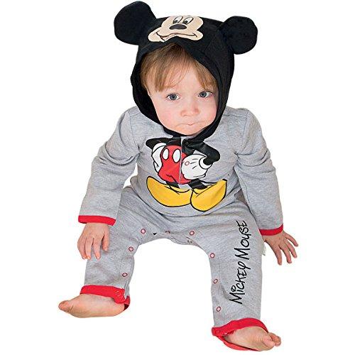 Anzug Maus Mickey (Micky Maus Babykostüm 0-3 Monate /)