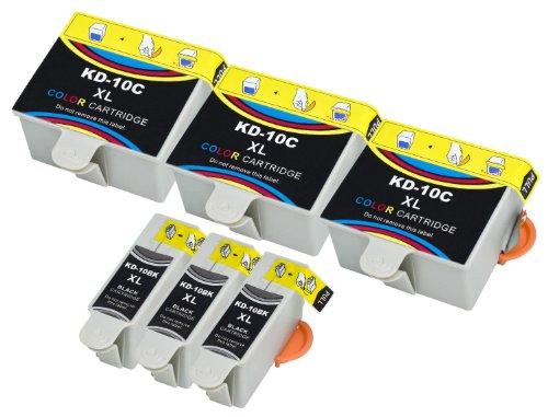 6-kompatible-druckerpatronen-mit-fullstandsanzeige-und-chip-fur-kodak-easyshare-5100-5300-5500-6150-