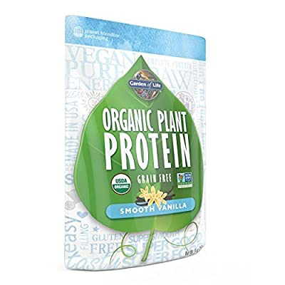 Garden of Life Organic Plant Protein, Smooth Vanilla, 260 Gram by Garden of Life by Garden of Life