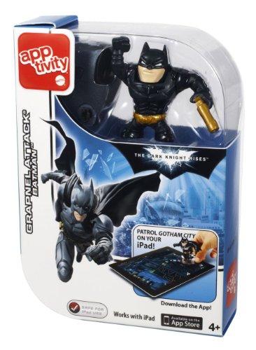 Imagen principal de Apptivity Mattel - Figura Batman, color negro (Y0204)