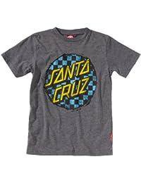 Santa cruz check dot t-shirt pour enfant