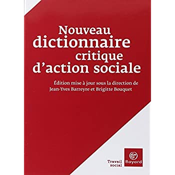 Nouveau dictionnaire critique d'action sociale