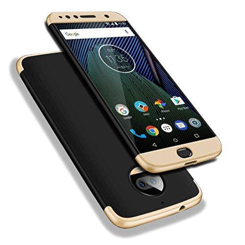 Bling-bling-felgen (Moto G5s Plus Hülle, WindCase Abdeckung Tasche Anti Fingerabdruck Stoßfest Anti-rutsch 3 in1 Harte PC Schutzhülle für Motorola Moto G5s Plus 5.5