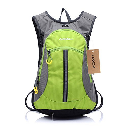 Lixada 15L Bike Backpacks Waterproof Cycling Backpack for Outdoor Mountain Bicycle Travel Hiking Camping Running