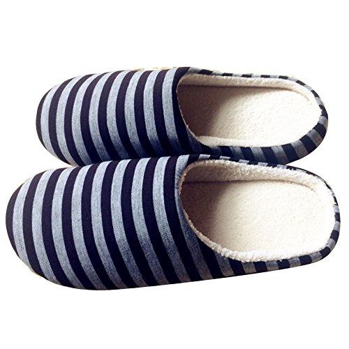 para-mujer-hombre-de-invierno-rayas-algodon-pantufla-parte-inferior-suave-zapato-xl-cafe