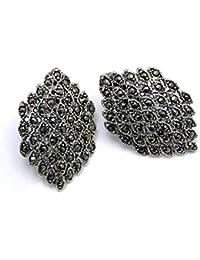 6afa8613a58d Minoplata Pendientes para mujer en Plata vieja y Marquesitas una joya que  jamás pasa de moda