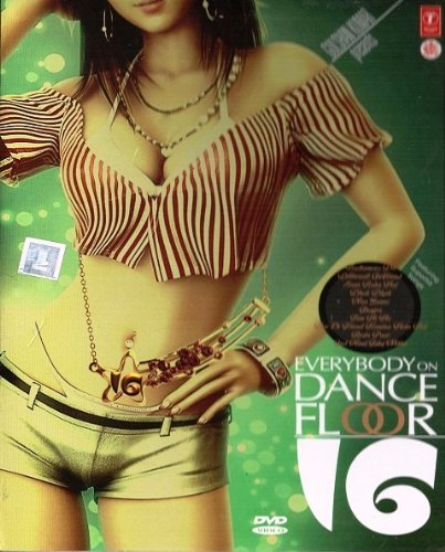 EVERYBODY ON THE DANCE FLOOR 16 MUSIC DVD [30 SUPERHIT BOLLYWOOD VIDEO SONGS]